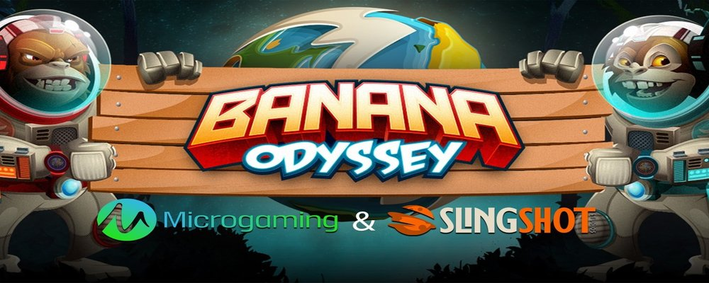 Microgaming to release new space-themed Banana Odyssey slot